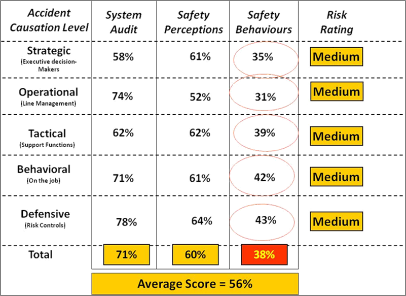 Safety Culture Profile